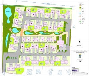Plan de sol Village senior avec services 68 Dannemarie